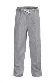 Unisex Chefs Check Drawstring Pant